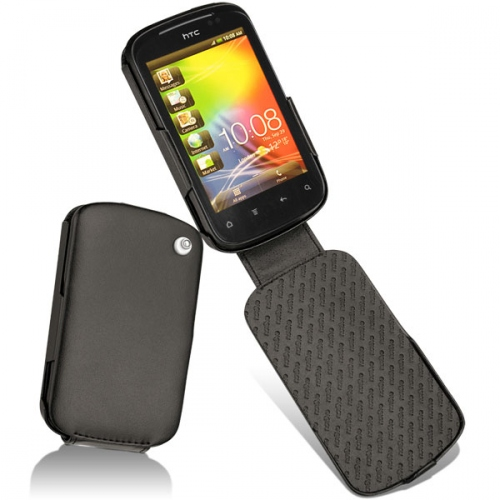 HTC Explorer  leather case