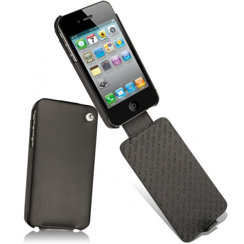 Housse cuir Apple iPhone 4