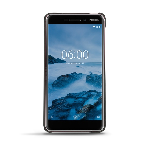 Nokia 6 (2018) leather cover
