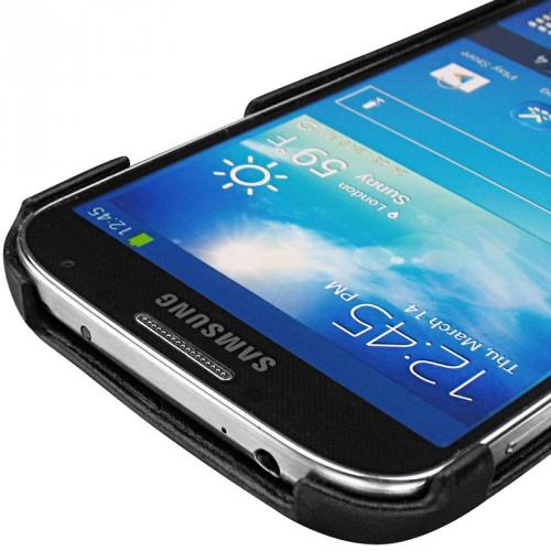 Coque cuir Samsung GT-i9500 Galaxy S IV