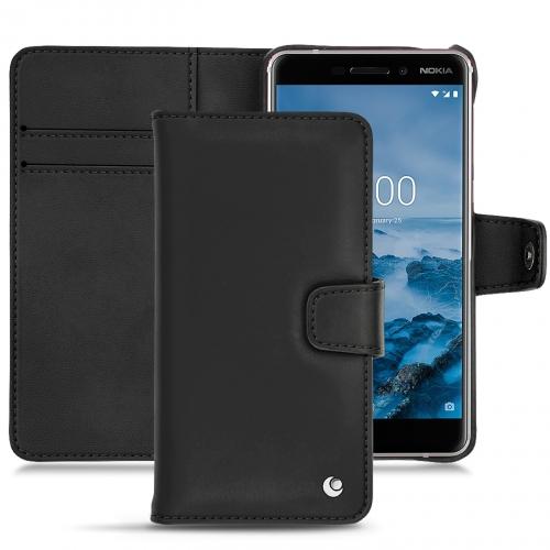 Housse cuir Nokia 6 (2018)