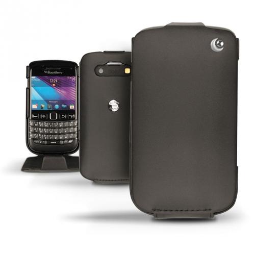 BlackBerry Bold 9790  leather case - Noir ( Nappa - Black )