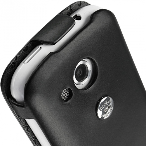 Housse cuir HTC Desire C