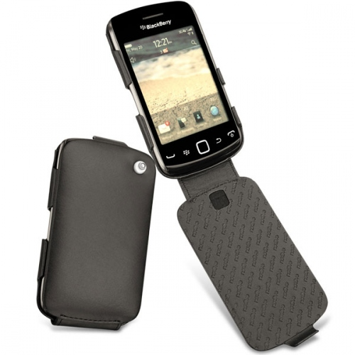BlackBerry Curve 9380  leather case - Noir ( Nappa - Black )