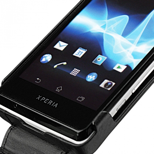 Housse cuir Sony Xperia T