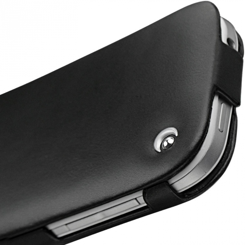 HTC One SV  leather case