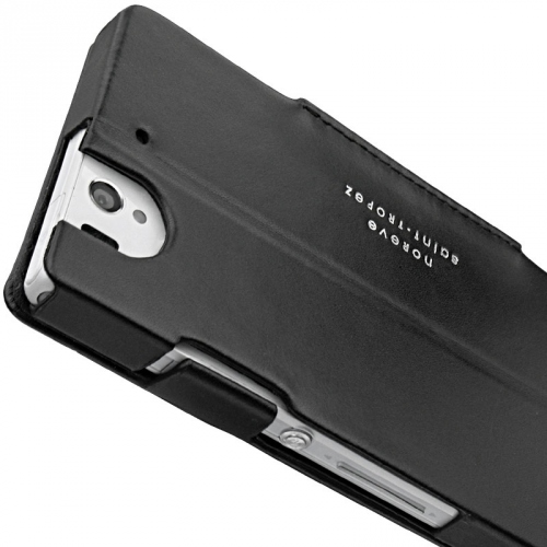 Housse cuir Sony Xperia Z