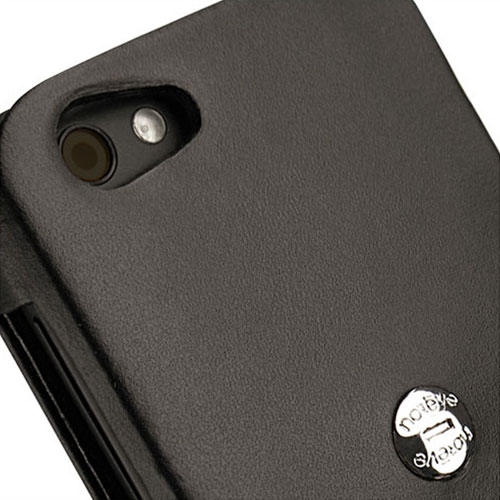 HTC One V  leather case
