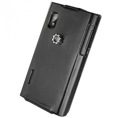 Housse cuir LG Optimus L5 E610