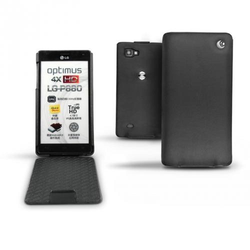 LG Optimus 4X HD  leather case