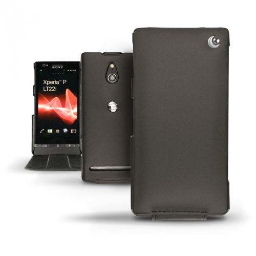 Sony Xperia P  leather case