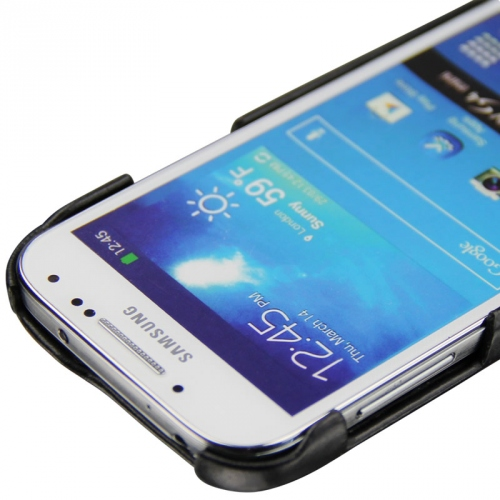 Coque cuir Samsung GT-i9190 Galaxy S4 mini