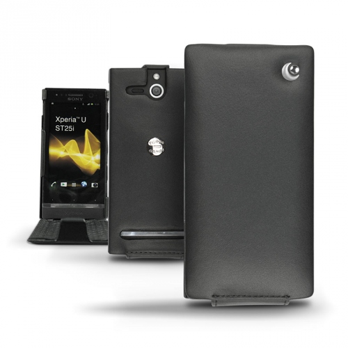 Sony Xperia U  leather case