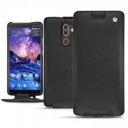 Nokia 7 Plus leather case