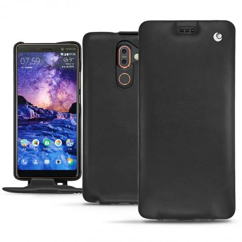 Housse cuir Nokia 7 Plus - Noir ( Nappa - Black )