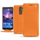 Nokia 7 Plus leather case - Abaca arancio