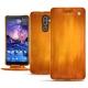 Nokia 7 Plus leather case - Orange Patine