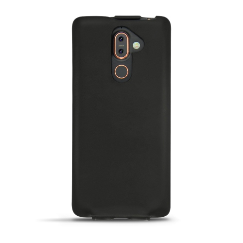 Nokia 7 Plus leather case