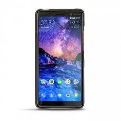 Capa em pele Nokia 7 Plus