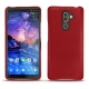 Nokia 7 Plus leather cover - Rouge ( Nappa - Pantone 199C )