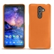 Nokia 7 Plus leather cover - Orange ( Nappa - Pantone 1495U )