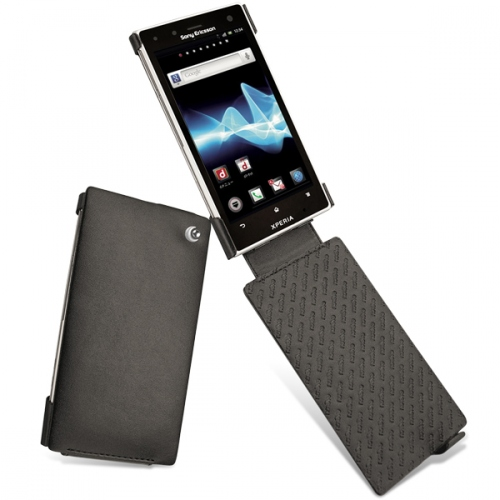 Housse cuir Sony Ericsson Xperia Acro HD