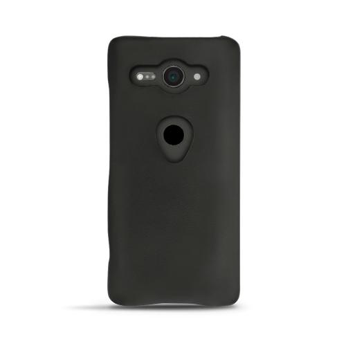 Coque cuir Sony Xperia XZ2 Compact