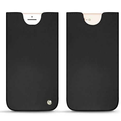 Custodia in pelle Apple iPhone 8 Plus - Noir ( Nappa - Black )