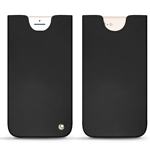 Lederschutzhülle Apple iPhone 8 Plus - Noir ( Nappa - Black )