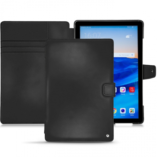 Huawei MediaPad M5 10 Pro leather case - Noir ( Nappa - Black )