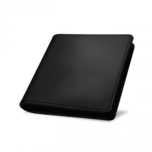 Porte cartes et billets - Noir PU