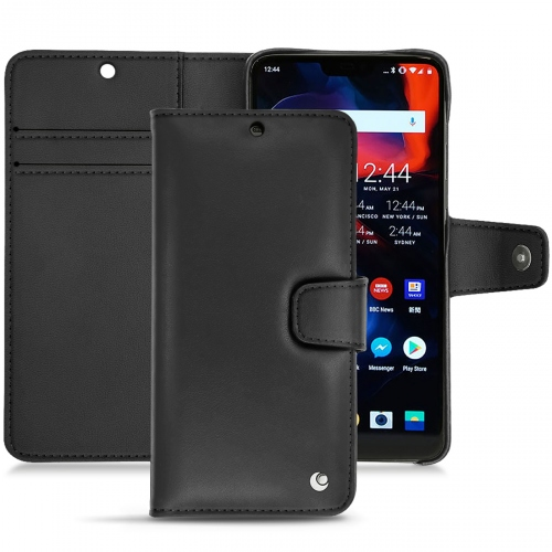 OnePlus 6 leather case