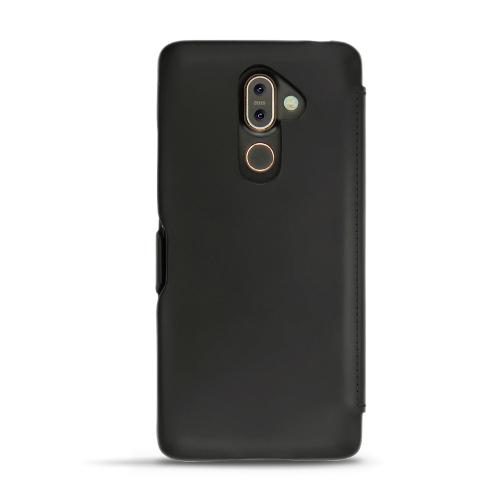 Housse cuir Nokia 7 Plus