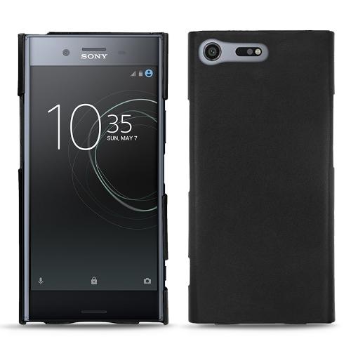 レザーケース Sony Xperia XZ Premium - Noir ( Nappa - Black )