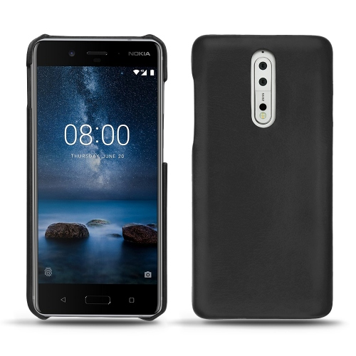 Nokia 8 leather cover