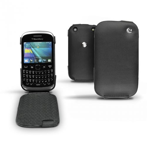 BlackBerry Curve 9320  leather case - Noir ( Nappa - Black )