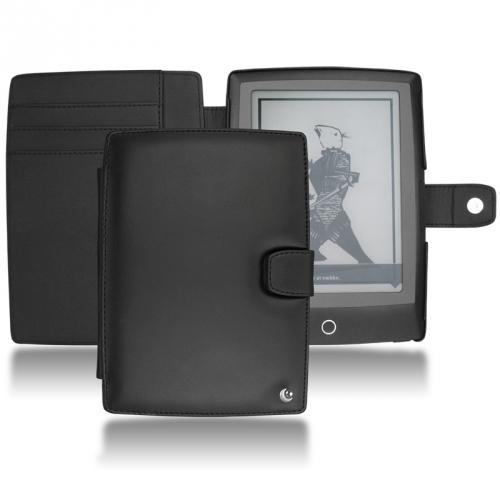 Housse cuir Bookeen Cybook Odyssey  - Noir ( Nappa - Black )