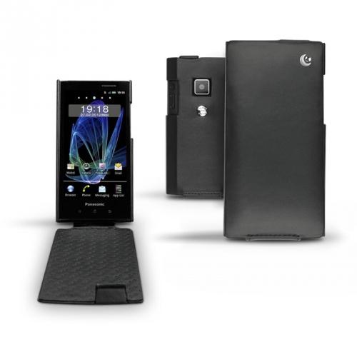 Housse cuir Panasonic Eluga DL1  - Noir ( Nappa - Black )