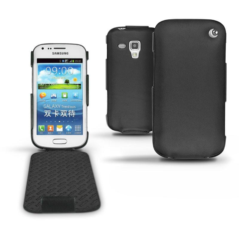 Samsung GT-S7562 Galaxy S Duos leather case