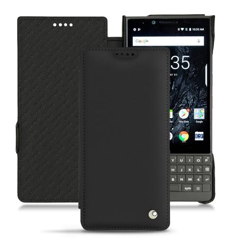Capa em pele Blackberry Key2