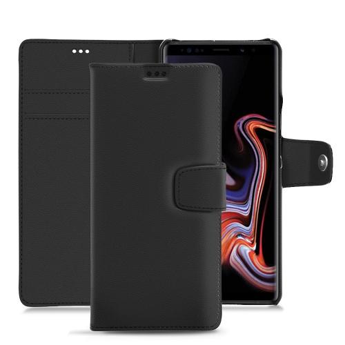 Capa em pele Samsung Galaxy Note9 - Noir PU