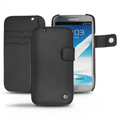 Housse cuir Samsung Galaxy Note 2
