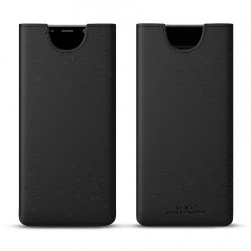 Custodia in pelle Samsung Galaxy Note9 - Noir PU