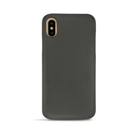 Apple iPhone Xs leather cover