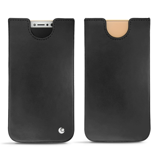 Apple iPhone Xs leather pouch