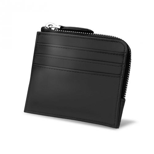 Porta-monedas y tarjetas - Anti-RFID / NFC - Noir PU