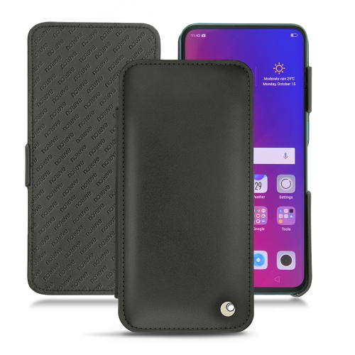 Oppo Find X leather case