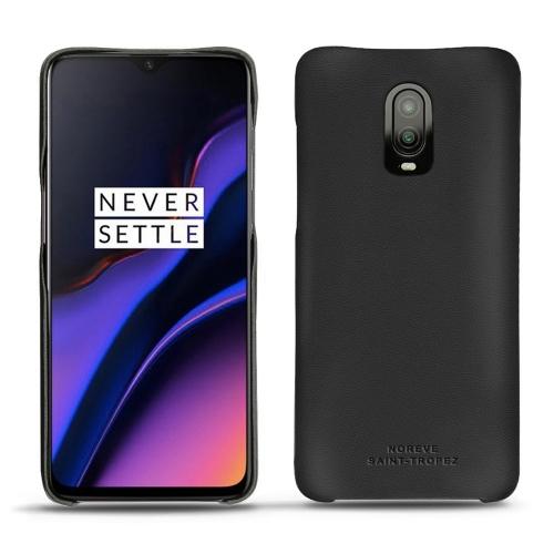 Coque cuir OnePlus 6T - Noir PU