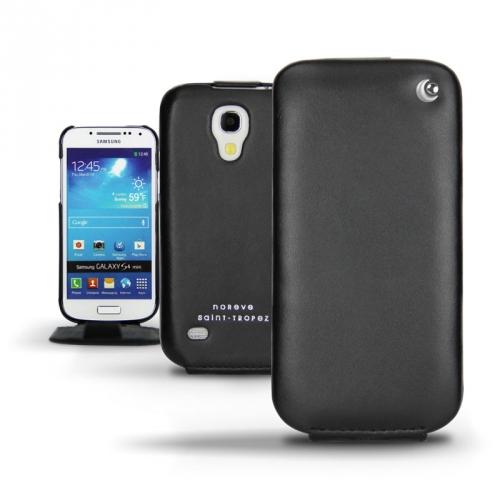 Samsung GT-i9190 Galaxy S4 mini  leather case - Noir ( Nappa - Black )