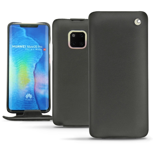 Huawei Mate 20 Pro leather case - Noir ( Nappa - Black )